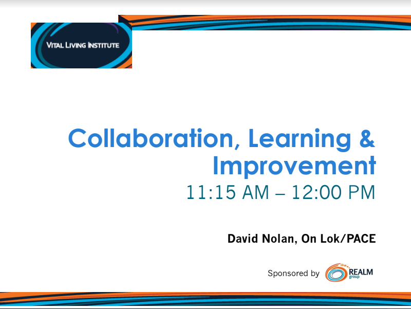 Collaboration, Learning & Improvement